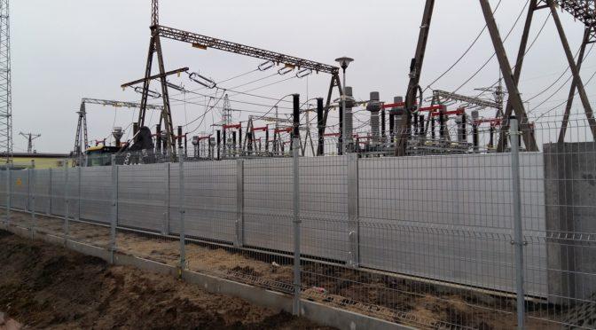 Zabezpieczenie GPZ stacji elektroenergetycznej w Nowym Dworze Gdańskim
